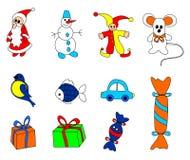 παιχνίδια Χριστουγέννων Στοκ Φωτογραφία