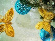 Παιχνίδια χριστουγεννιάτικων δέντρων στοκ εικόνες