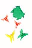 παιχνίδια origami Στοκ Εικόνες