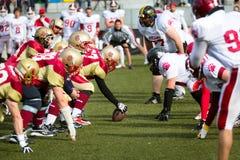 Παιχνίδι αμερικανικού ποδοσφαίρου Στοκ εικόνα με δικαίωμα ελεύθερης χρήσης