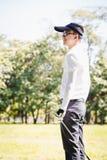 παιχνίδι ατόμων γκολφ Στοκ Εικόνα