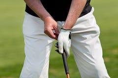 παιχνίδι ατόμων γκολφ Στοκ εικόνα με δικαίωμα ελεύθερης χρήσης