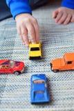 Παιχνίδι αυτοκινήτων παιχνιδιών Στοκ Φωτογραφία