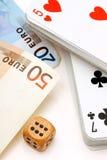 Παιχνίδι για τα χρήματα. Στοκ φωτογραφίες με δικαίωμα ελεύθερης χρήσης