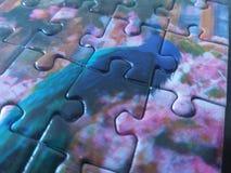 Παιχνίδι γρίφων ένα peacock Στοκ εικόνα με δικαίωμα ελεύθερης χρήσης