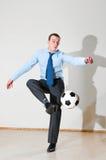 παιχνίδι γραφείων ποδοσφ&a Στοκ φωτογραφίες με δικαίωμα ελεύθερης χρήσης