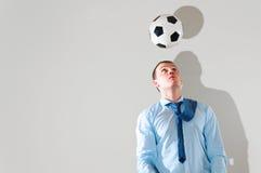 παιχνίδι γραφείων ποδοσφ&a Στοκ φωτογραφία με δικαίωμα ελεύθερης χρήσης