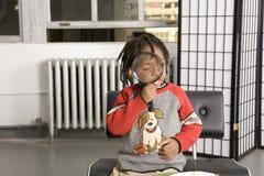 παιχνίδι ενίσχυσης γυαλ&i Στοκ εικόνα με δικαίωμα ελεύθερης χρήσης