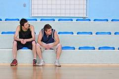Παιχνίδι καλαθοσφαίρισης Στοκ Εικόνα