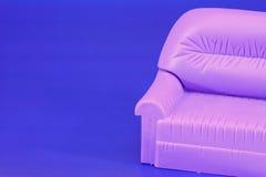παιχνίδι καναπέδων πολυθ&rh Στοκ Εικόνα