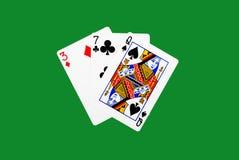 παιχνίδι καρτών Στοκ φωτογραφίες με δικαίωμα ελεύθερης χρήσης