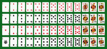 παιχνίδι καρτών ελεύθερη απεικόνιση δικαιώματος