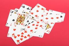 παιχνίδι καρτών Στοκ Εικόνες