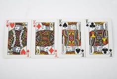 παιχνίδι καρτών Στοκ Εικόνα