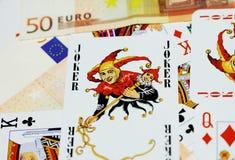 παιχνίδι καρτών στοκ εικόνα με δικαίωμα ελεύθερης χρήσης