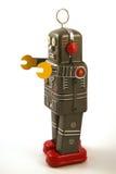 Παιχνίδι κασσίτερου ρομπότ Στοκ εικόνα με δικαίωμα ελεύθερης χρήσης