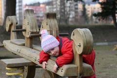 παιχνίδι κοριτσιών Στοκ Φωτογραφίες