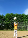 παιχνίδι κοριτσιών Στοκ φωτογραφία με δικαίωμα ελεύθερης χρήσης