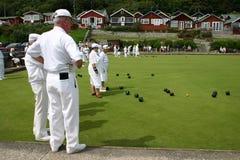 παιχνίδι κύπελλων ευγενέ& Στοκ Εικόνες
