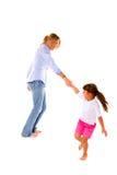 Παιχνίδι μητέρων με την κόρη στοκ φωτογραφία με δικαίωμα ελεύθερης χρήσης