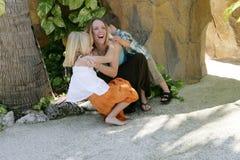 παιχνίδι μητέρων Στοκ φωτογραφία με δικαίωμα ελεύθερης χρήσης