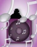 παιχνίδι μουσικής του DJ διανυσματική απεικόνιση