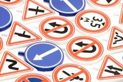 παιχνίδι οδικών σημαδιών Στοκ φωτογραφία με δικαίωμα ελεύθερης χρήσης