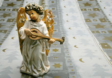 παιχνίδι οργάνων αγγέλου Στοκ Εικόνα