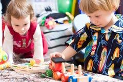 παιχνίδι παιδιών Στοκ Φωτογραφία
