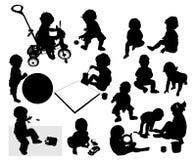 παιχνίδι παιδιών Ελεύθερη απεικόνιση δικαιώματος