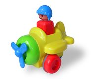παιχνίδι παιδιών s αεροπλάν&ome Στοκ Εικόνα