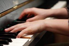 παιχνίδι πιάνων Στοκ εικόνες με δικαίωμα ελεύθερης χρήσης