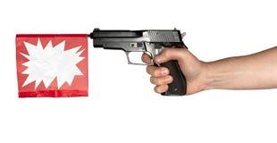 παιχνίδι πυροβόλων όπλων Στοκ εικόνες με δικαίωμα ελεύθερης χρήσης