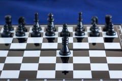 Παιχνίδι σκακιού των βασιλιάδων Στοκ Εικόνες