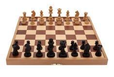 παιχνίδι σκακιού χαρτονιώ&n στοκ εικόνα