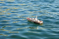 παιχνίδι σκαφών Στοκ φωτογραφία με δικαίωμα ελεύθερης χρήσης