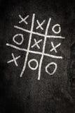 παιχνίδι σταυρών noughts Στοκ Φωτογραφίες