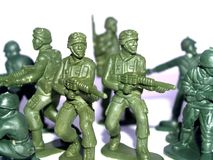 παιχνίδι στρατιωτών Στοκ φωτογραφία με δικαίωμα ελεύθερης χρήσης
