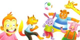 παιχνίδι σφαιρών Στοκ εικόνες με δικαίωμα ελεύθερης χρήσης