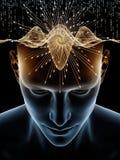 Παιχνίδι του ανθρώπινου μυαλού διανυσματική απεικόνιση