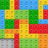Παιχνίδι τούβλου, διανυσματική απεικόνιση απεικόνιση αποθεμάτων