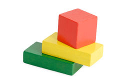παιχνίδι τούβλων Στοκ Εικόνα
