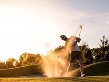 παιχνίδι τύπων γκολφ Στοκ εικόνες με δικαίωμα ελεύθερης χρήσης