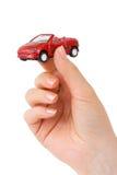 παιχνίδι χεριών αυτοκινήτων Στοκ εικόνες με δικαίωμα ελεύθερης χρήσης