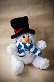 παιχνίδι χιονανθρώπων cristmas Στοκ φωτογραφίες με δικαίωμα ελεύθερης χρήσης
