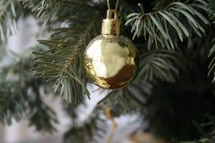 Παιχνίδι χριστουγεννιάτικων δέντρων - σφαίρα στοκ φωτογραφία με δικαίωμα ελεύθερης χρήσης