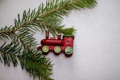Παιχνίδι χριστουγεννιάτικων δέντρων ως εορταστική διακόσμηση στοκ φωτογραφίες με δικαίωμα ελεύθερης χρήσης