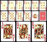 παιχνίδι 2 καρτών blackjack Στοκ Εικόνα