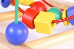 παιχνίδι 2 παιδιών Στοκ Εικόνα