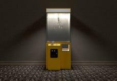 Παιχνίδι Arcade νυχιών στο δωμάτιο διανυσματική απεικόνιση